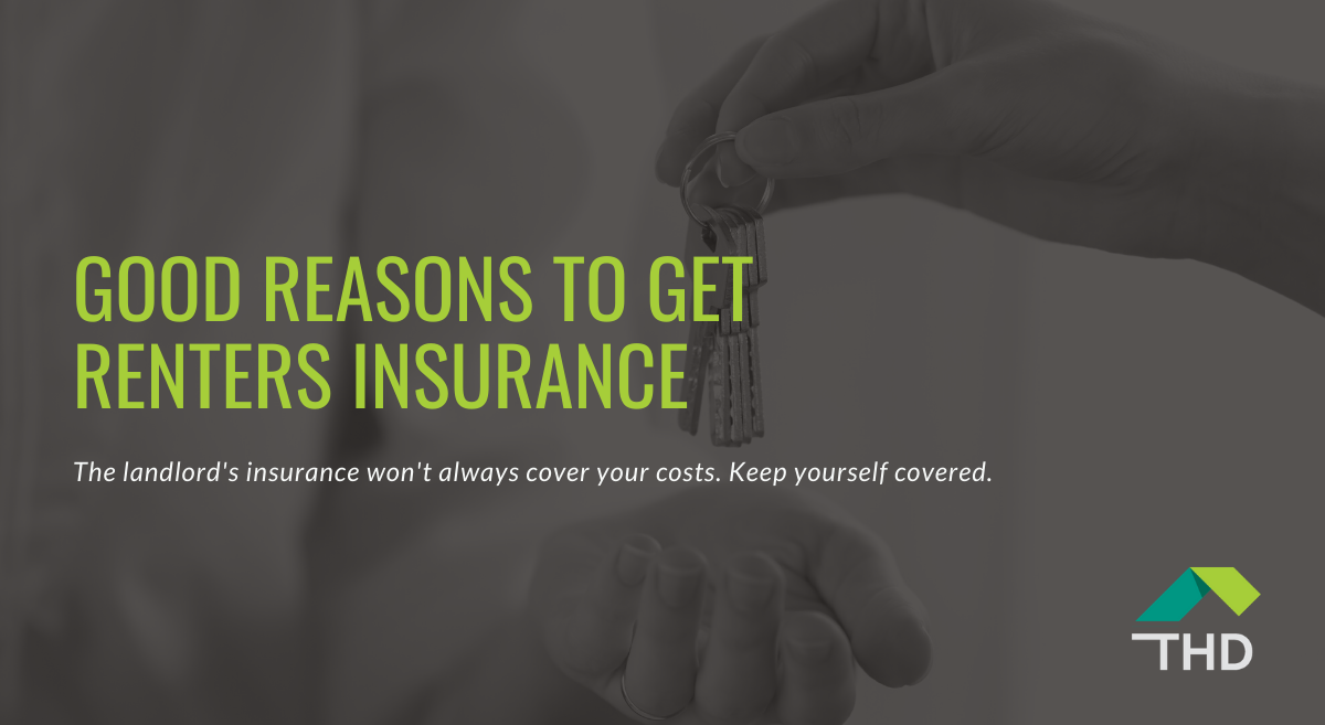 Blog post called Good Reasons to Get Renter's Insurance
